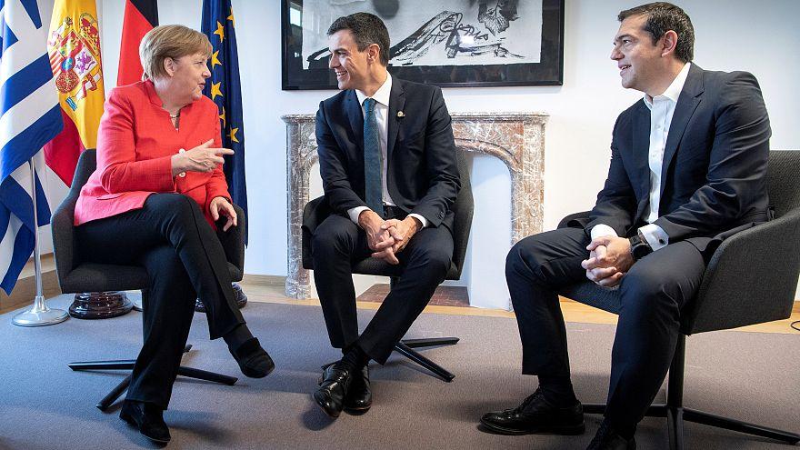 España echa un capote a Alemania en la cumbre de la migración