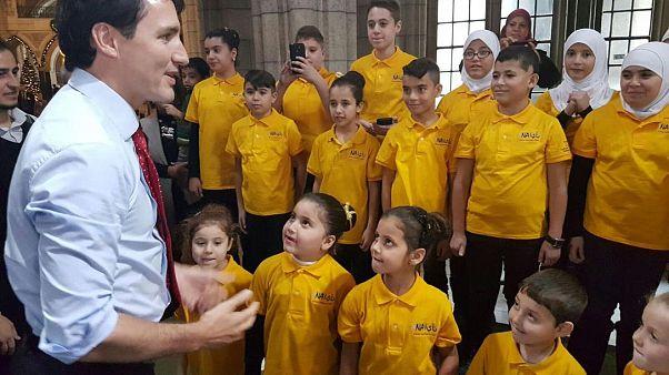 Kanada'daki göçmen çocuklar korosundan ABD'nin davetine ret