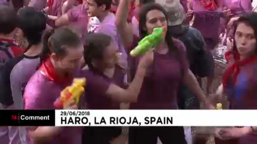 Borháború Spanyolországban