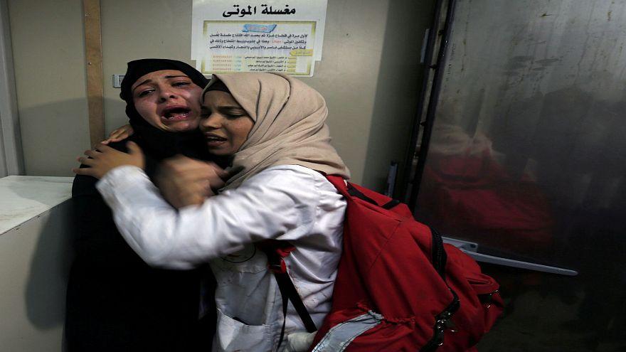 القوات الإسرائيلية تقتل فلسطينيين خلال احتجاجات شمال غزة
