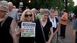Luto en Annapolis por la masacre en el Capital Gazzete