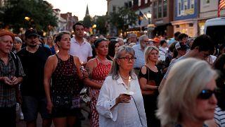 Gedenken an die 5 Todesopfer: Trauermarsch in Annapolis
