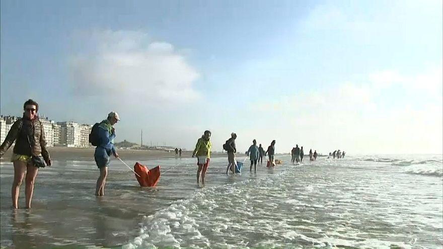 beach belgium - grab from sujet