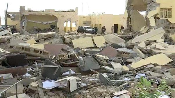 A katonai tábor nagy része megsemmisült