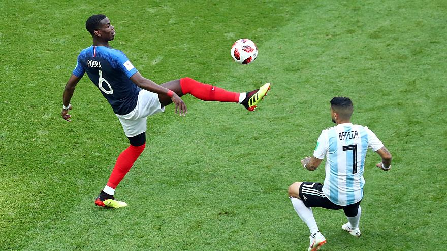 France knock Argentina out of the World Cup 4-3