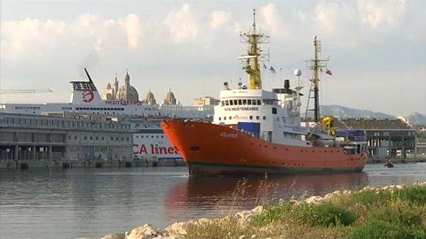 Líbiába indult az Aquarius