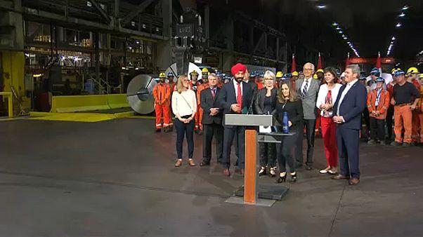 Kanadai válasz Trump kereskedelmi háborújára