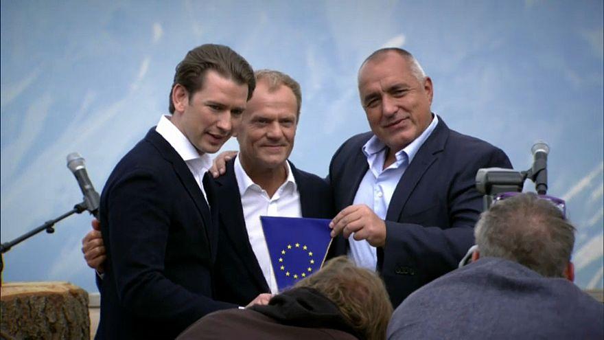 Migração marca presidência austríaca da UE