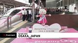 New Hello Kitty bullet train in Japan is launched