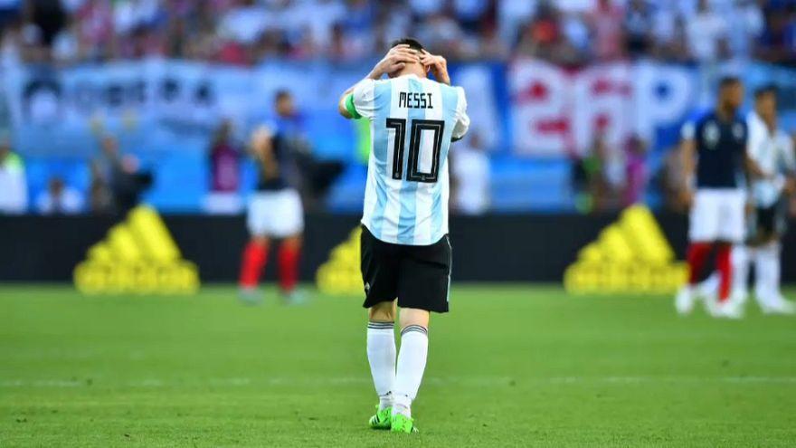 Francia termina con el 'sueño' de Argentina en el Mundial de Rusia