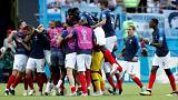 VB 2018: Franciaország negyeddöntős, Argentína búcsúzott