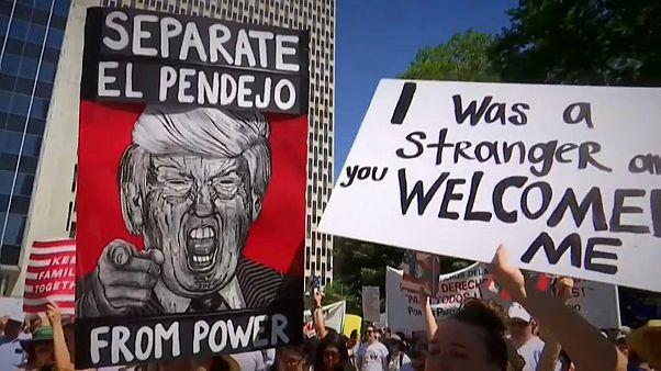 Protest gegen US-Einwanderungspolitik