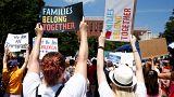 Trump ellen tüntettek Amerika-szerte