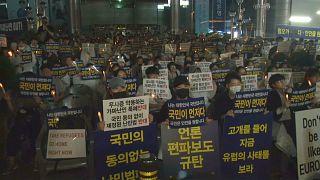 مظاهرات في كوريا الجنوبية بسبب اللاجئين اليمنيين