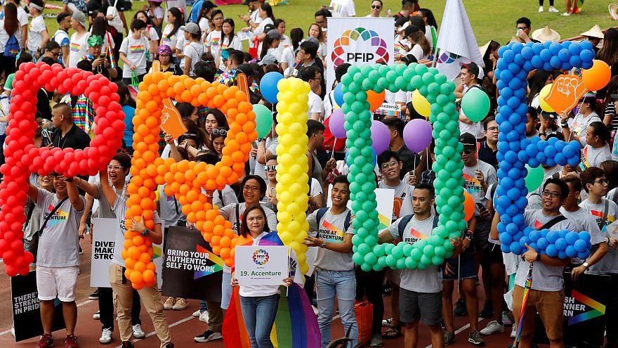 A melegek jogaiért tüntettek Manilában