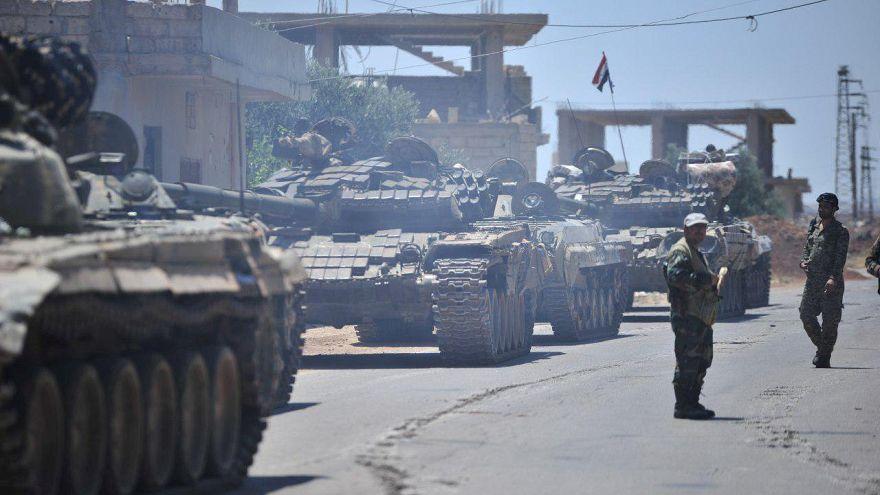تقدم لقوات النظام السوري في درعا والمعارضة ترفض عرضا روسيا للاستسلام