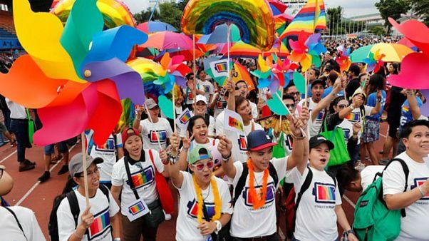 Παρέλαση Gay Pride στη Μανίλα