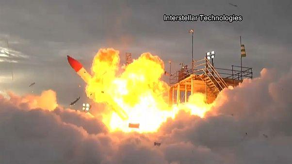 Japanische Rakete: Fehlstart!