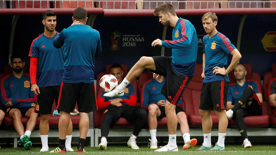 Le choc Russie-Espagne