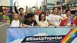 Multitudinaria participación en la Marcha del Orgullo en Manila