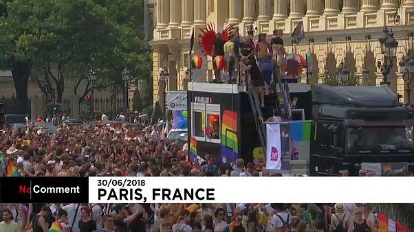 La Marche des fiertés à Paris