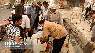 ادامه بحران آب در خرمشهر و تجمعات اعتراضی