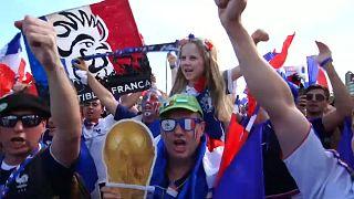 Jubelstimmung in Frankreich