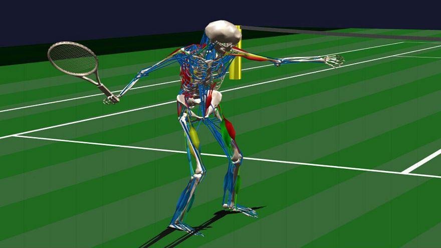 تكنولوجيا التقاط الحركة في نجدة لاعبي التنس لتجنب الإصابات