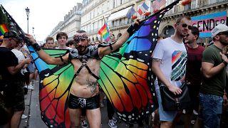 Paris Pride marches on despite homophobic attacks