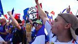 Euforia para una Francia fuerte que se enfrentará a Uruguay en cuartos de final