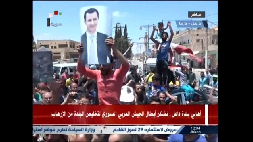 El régimen sirio logra la rendici´ón de la provincia de Deraa