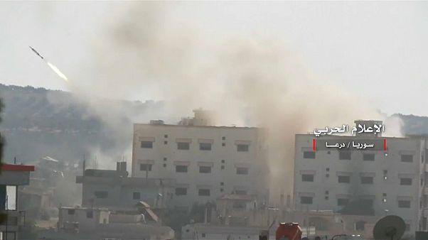 La provincia di Daraa, scenario di morte e fuga