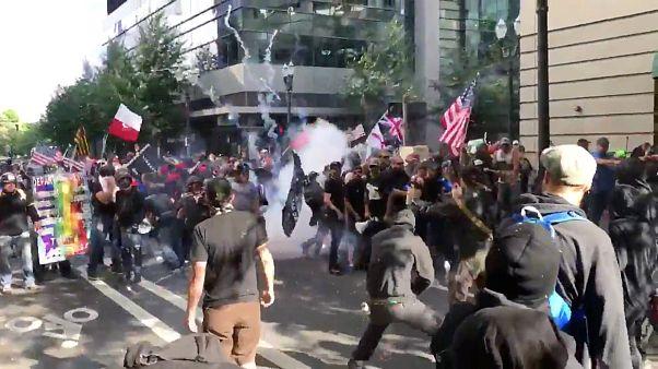 demonstration portland