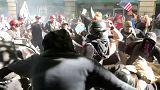 تظاهرات علیه سیاست مهاجرتی در آمریکا؛ ترامپ: مخالفان بد جوری شکست میخورند