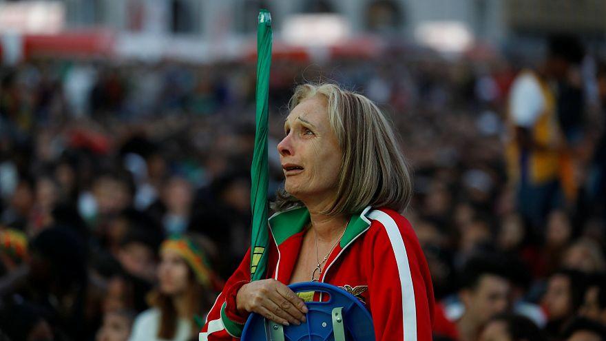 A alegria de Montevideo foi a tristeza de Lisboa