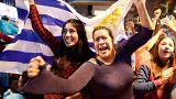 L'allégresse côté uruguayen, l'affliction côté portugais