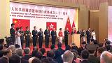 Годовщина присоединения Гонконга: торжества и протесты