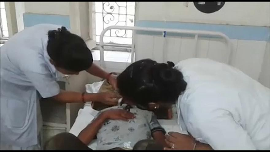 Buszbaleset Indiában