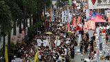 Les uns célèbrent le succès de la rétrocession de Hong-Kong, 21 ans après, d'autres dénoncent la mainmise de Pékin