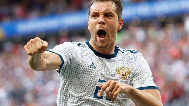 Dünya Kupası: Rusya çeyrek finalde