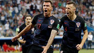 Dünya Kupası: Penaltılarla Danimarka'yı mağlup eden Hırvatistan çeyrek finalde