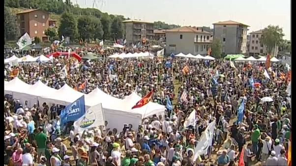 "Pontida, Salvini: ""europee saranno referendum contro Europa senza confini"""