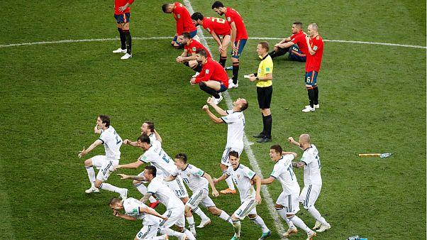 بازی اسپانیا روسیه در رقابتهای جام جهانی فوتبال ۲۰۱۸
