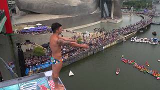 Steven LoBue wins his first Cliff Diving event for three years in Bilbao