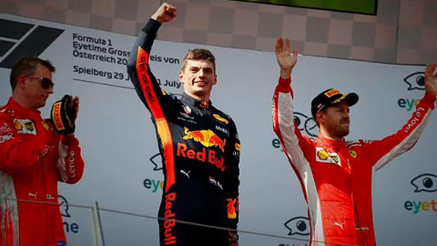 Forma-1: Max Verstappen győzött a Red Bull Ringen