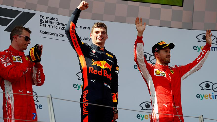 Verstappen é o vencedor do GP da Áustria