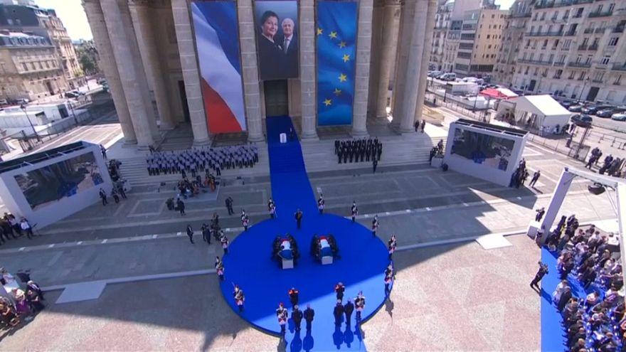 Simone Veil descansa en el Panteón entre los héroes de Francia