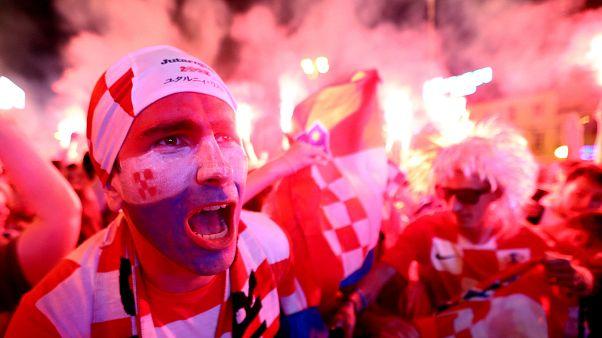 Croácia passa aos quartos depois de derrotar a Dinamarca nas grandes penalidades