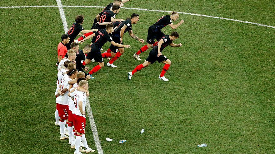 Russia 2018: la Croazia batte la Danimarca ai rigori e passa ai quarti