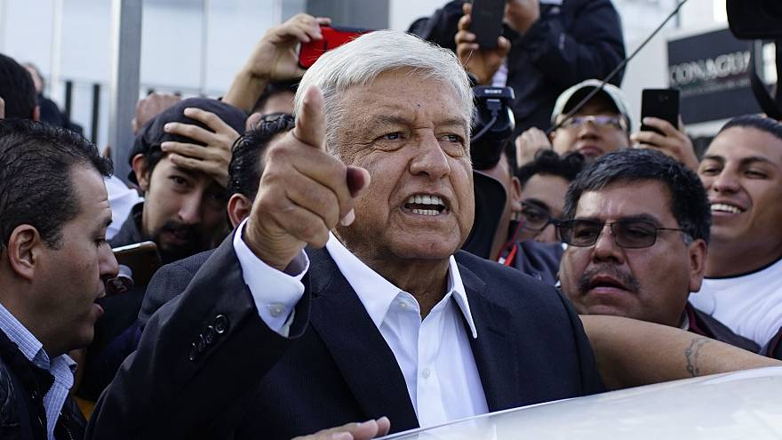 Left-winger Lopez Obrador wins Mexico's presidential election, rivals concede